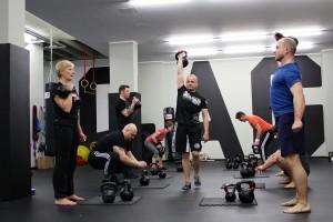 Big Six Workout Tag 1