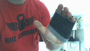 Handschutz mit Söckchen